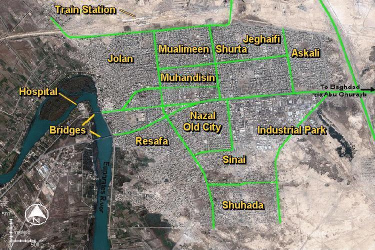iraqi and us forces enter fallujah operation dawnphantom fury